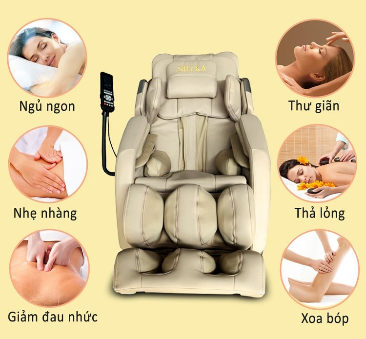 ghế massage shika tại hải phòng