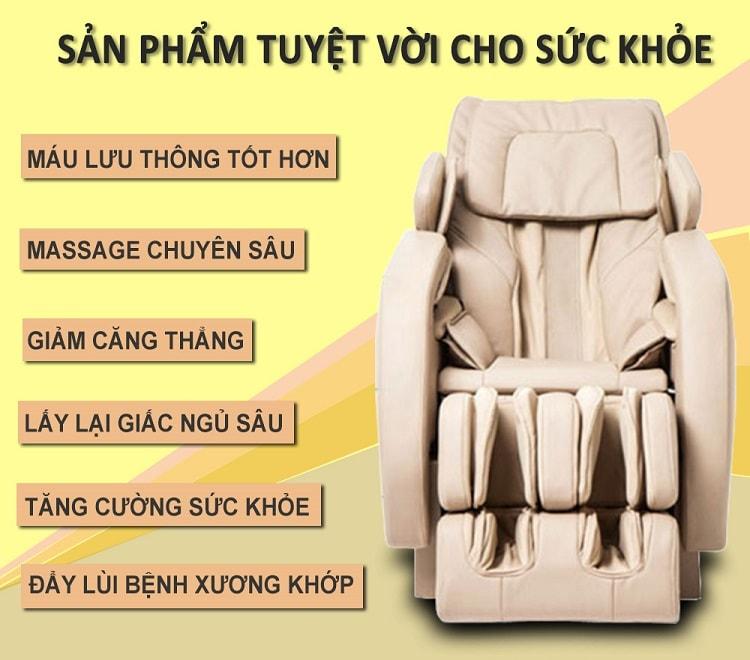 Ghế Massage Toàn Thân Shika SK8901