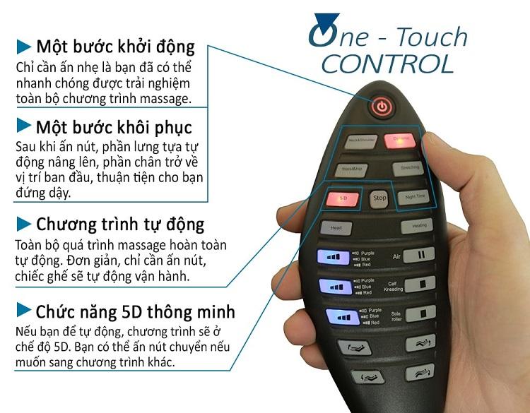 Ghế massage cao cấp 5D Shika SK-116 Pro
