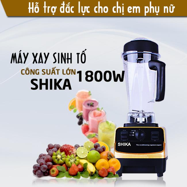 máy xay sinh tố Shika
